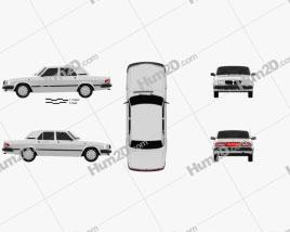 GAZ 3110 Volga 2004 car clipart