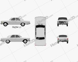 GAZ 24 Volga 1967