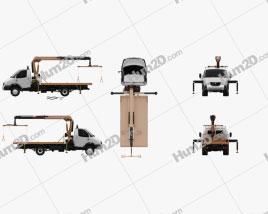 GAZ Gazelle Valday Tow Truck 2018