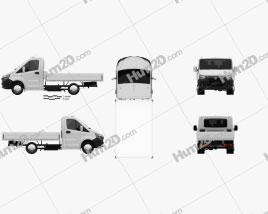GAZ Gazelle Next Single Cab Flatbed 2020