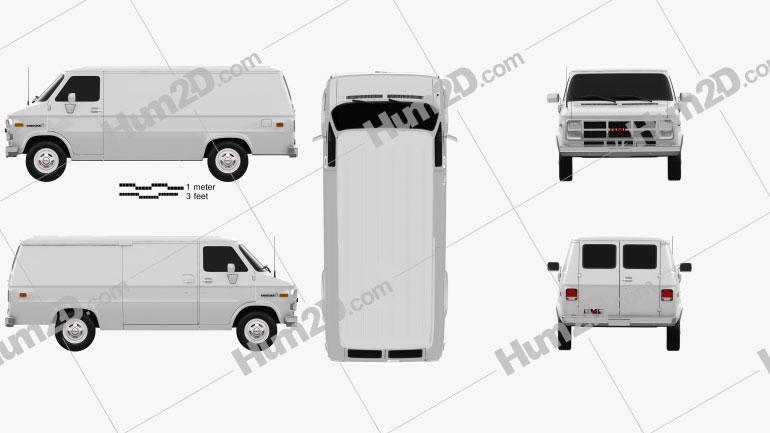 GMC Vandura Panel Van 1992