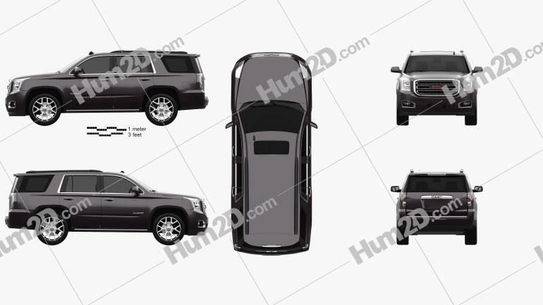 GMC Yukon 2014 car clipart