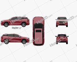 GMC Terrain Denali 2017 car clipart
