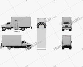 GMC Topkick C6500 Box Truck 1990