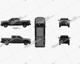 GMC Sierra 1500 Crew Cab Short Box All Terrain 2017