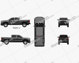 GMC Sierra 1500 SLE Crew Cab Short Box 2017