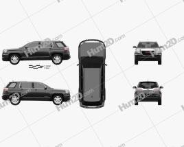 GMC Terrain SLE-1 2016 car clipart