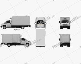 GMC Topkick C5500 Box Truck 2004