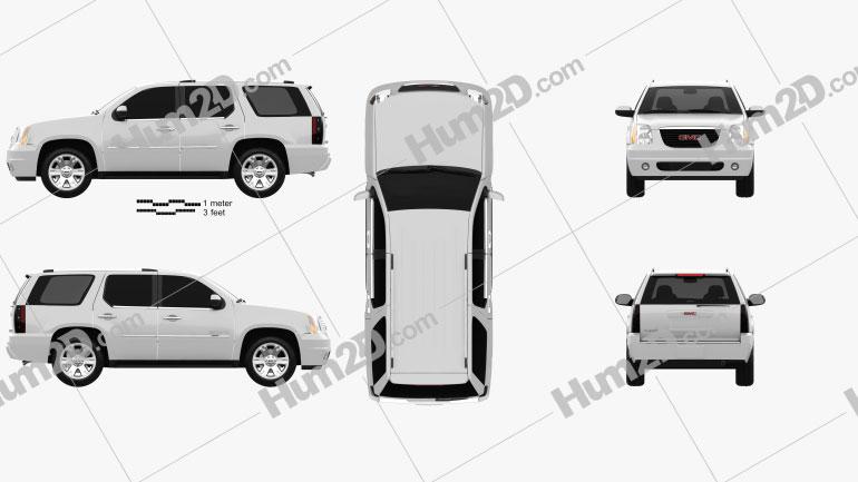 GMC Yukon 2012 car clipart