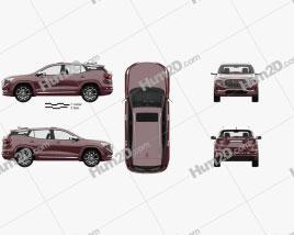 GMC Terrain Denali mit HD Innenraum 2017 car clipart