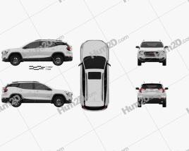 GMC Terrain AT4 2022 car clipart