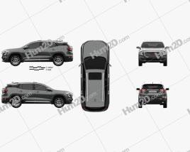 GMC Terrain Denali 2022 car clipart