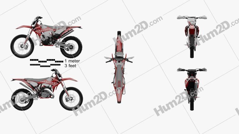 GasGas 250-300 Enduro GP 2020 Motorcycle clipart