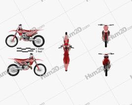 GasGas MC 125 2021 Motorcycle clipart