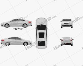 Geely GC9 2015 car clipart