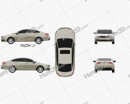 Geely Emgrand GL 2016 car clipart