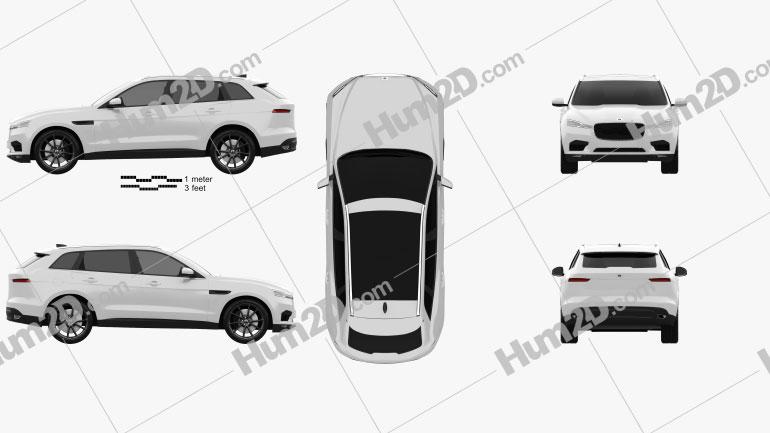 Generic SUV 2016 car clipart
