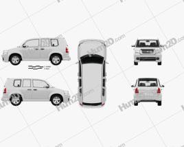 Generic SUV with HQ interior 2012