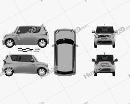 Generic hatchback 3-door 2014