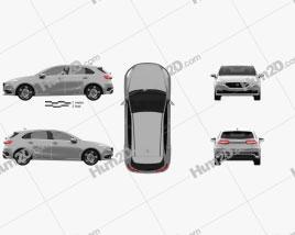 Generic hatchback 5-door 2019