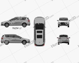 Generic minivan 2019