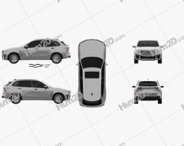 Generic SUV 2019 Clipart