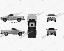 Generic Single Cab pickup 2016