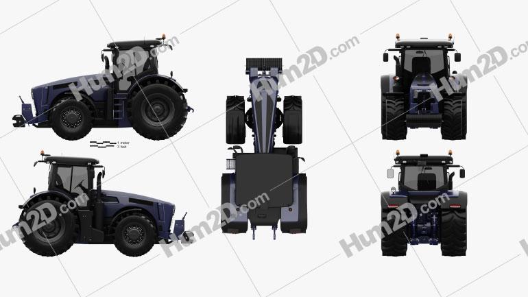 Generic Tractor 2020 Tractor clipart