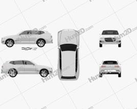 Genesis GV80 concept 2017 car clipart