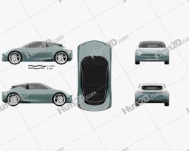 Genesis Mint 2019 car clipart