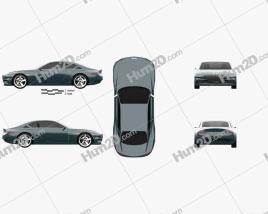 Genesis X 2021 car clipart