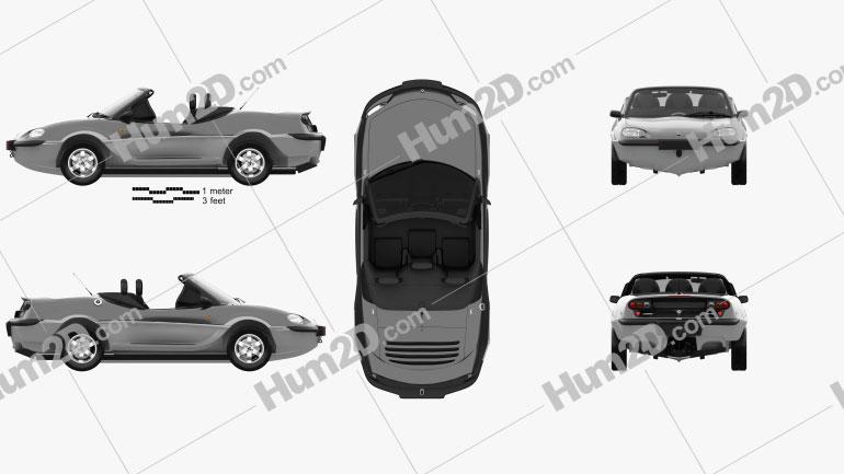 Gibbs Aquada 2004 car clipart
