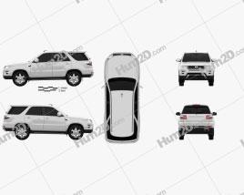 Gonow GX6 2014 car clipart
