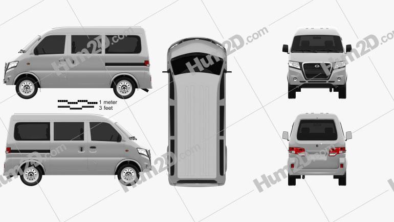 Gonow Minivan 2009