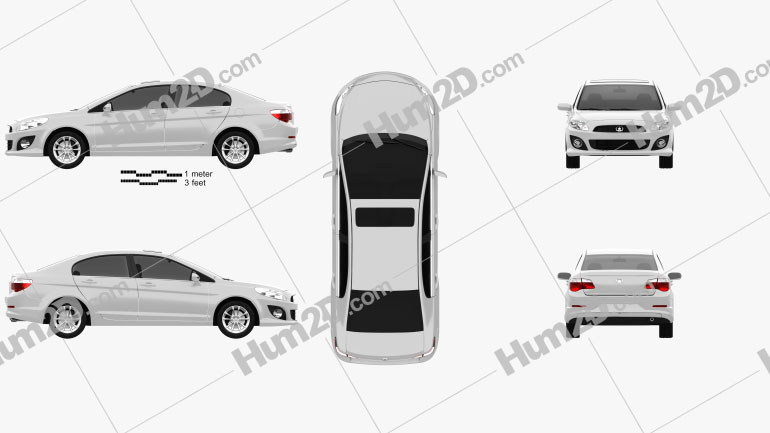 Great Wall Voleex C50 2012 car clipart