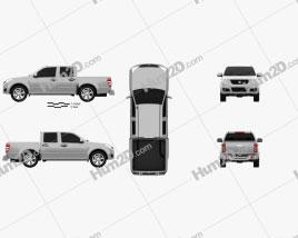 Great Wall Wingle 2010 car clipart