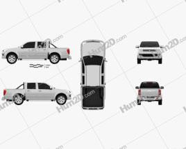 Great Wall Wingle 5 (EU) 2013 car clipart