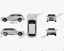Grove Obsidian SUV 2020 car clipart
