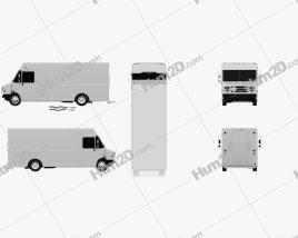 Grumman Van 2017 clipart
