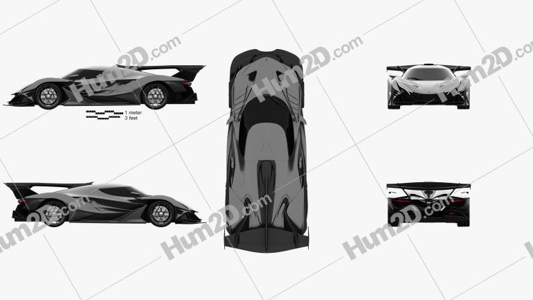 Apollo Intensa Emozione 2019 car clipart