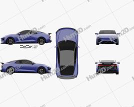 Gumpert RG Nathalie 2018 car clipart