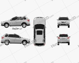 Haima 7 2011 car clipart