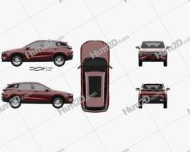Haima 8S 2019 car clipart