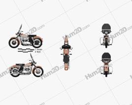 Harley-Davidson KH Elvis Presley 1956