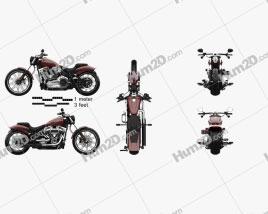 Harley-Davidson FXBRS Breakout 114 2018