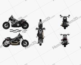 Harley-Davidson FXFB Fat Bob 114 2018