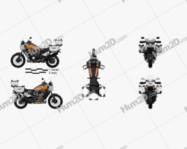 Harley-Davidson Pan America 2021 Motorcycle clipart