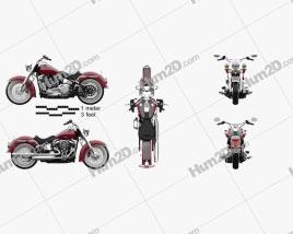 Harley-Davidson Deluxe 107 2021 Moto clipart