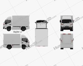 Hino 300 Standard Cab Box 2010
