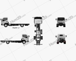 Hino 300-616 Chassis Truck 2007